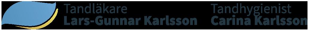 Tandläkare Lars-Gunnar Karlsson Logo